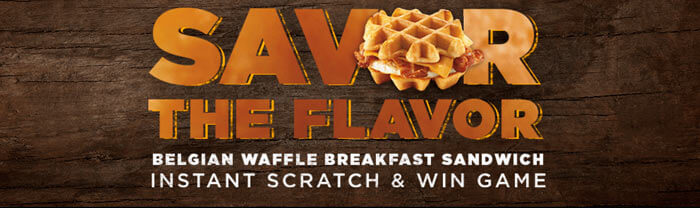 DDSavorTheFlavor.com - Dunkin Donuts Savor The Flavor Instant Scratch & Win Game