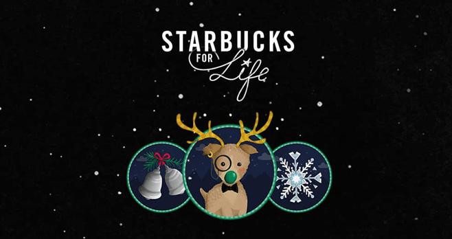 Starbucks For Life 2016 Holiday Edition (StarbucksForLife.com)