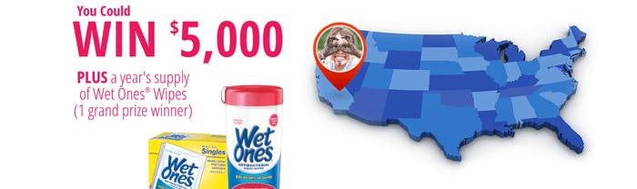WishIHadAWetOnes.com - Wet Ones The Messiest Kid in America Contest 2016