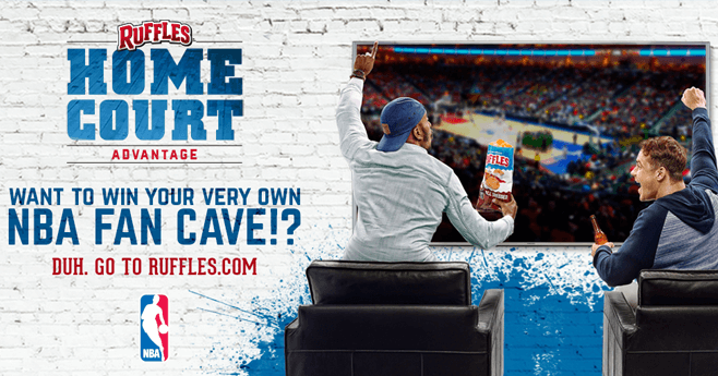 Ruffles Home Court Advantage Promotion (RufflesHomeCourtAdvantage.com)