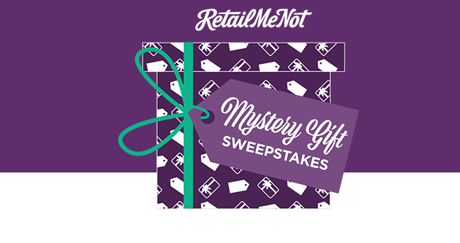 RetailMeNot Mystery Gift Sweepstakes