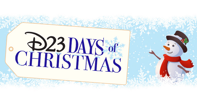 D23 Days of Christmas Sweepstakes (D23.com/D23Days)
