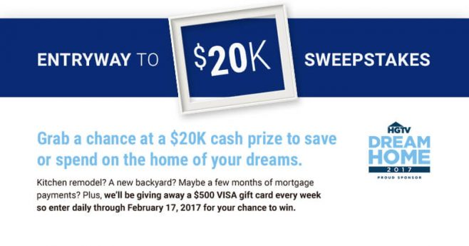 Realtor.com Sweepstakes Entryway To $20K
