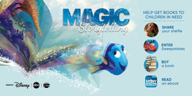 Disney Magic Of Storytelling Sweepstakes (MagicOfStoryTelling.com)