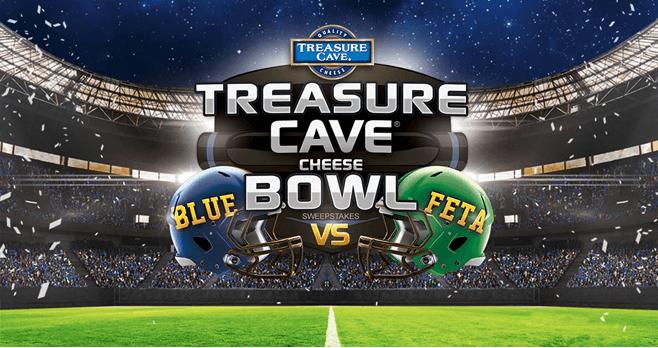 Treasure Cave Cheese Bowl Sweepstakes (TreasureCaveBowl.com)