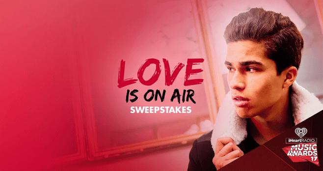 Radio Disney Love Is On Air Sweepstakes (Radio.Disney.com)