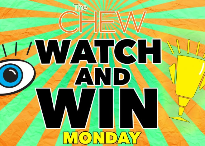 The Chew Watch And Win Sweepstakes