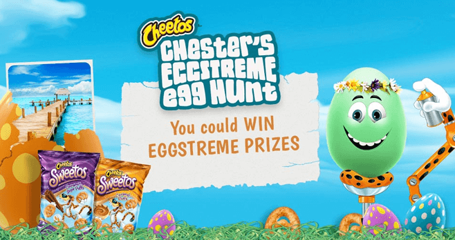 CHEETOS Easter Egg Hunt 2017 (CheetosEaster.com)