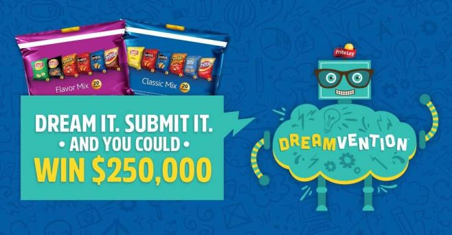 Frito-Lay Variety Packs My Dreamvention Contest 2017 (MyDreamvention.com)