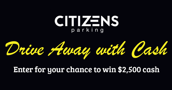 Citizens Parking Drive Away With Cash Sweepstakes