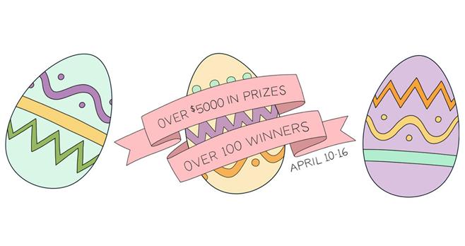 Jane's Easter Egg Hunt Giveaway 2017