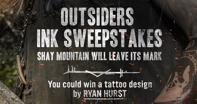 WGN America Outsiders Ink Sweepstakes
