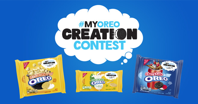 My Oreo Creation Contest 2018 (MyOreoCreationContest.com)