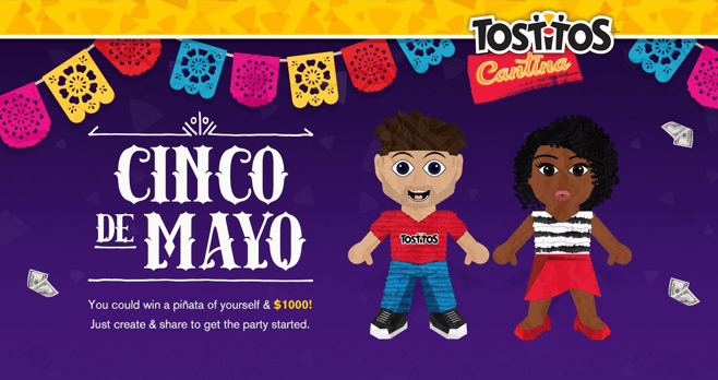 Tostitos Pinata Party Sweepstakes (TostitosCantina.com)
