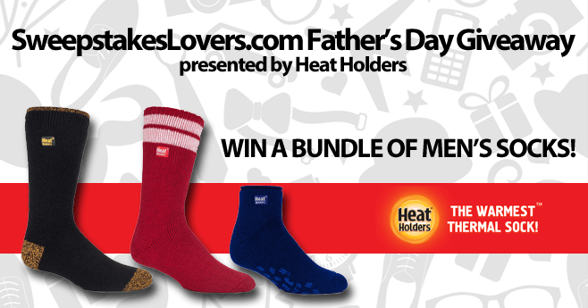 SweepstakesLovers.com Father's Day Giveaway presented by Heat Holders