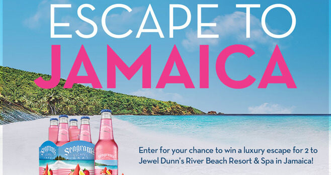 Seagram's Escapes Jamaican Me Happy Summer Sweepstakes
