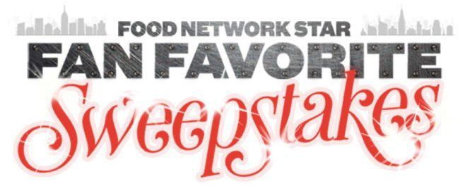 Food Network Star Fan Favorite Sweepstakes 2017