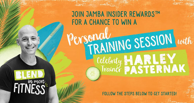Jamba Juice Insider Rewards Fitness Giveaway