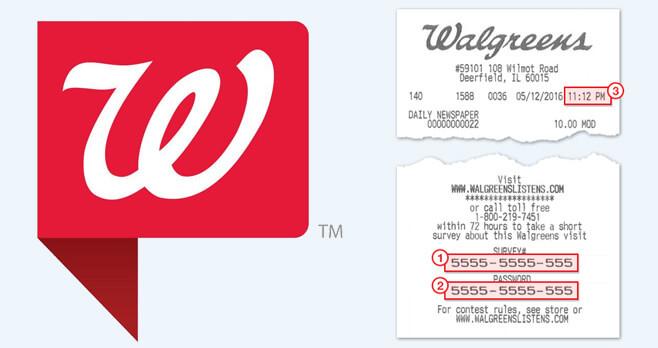 Walgreens Listens Sweepstakes (WalgreensListens.com)