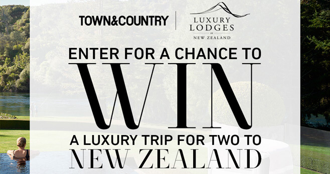 Town & Country New Zealand Sweepstakes
