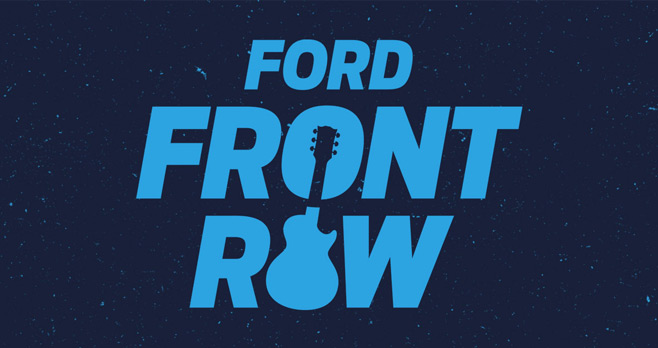 Billboard Ford Front Row Sweepstakes 2017