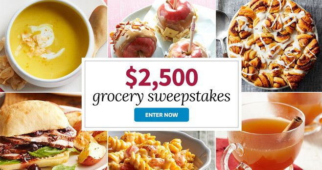 BHG $2,500 Grocery Sweepstakes 2017