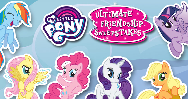 Nickelodeon My Little Pony Ultimate Friendship Sweepstakes