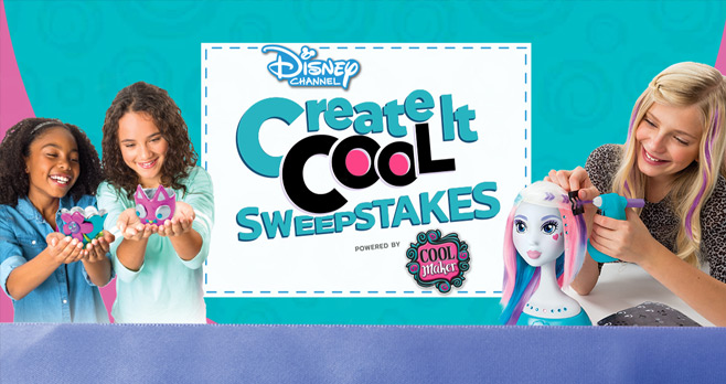 Disney Channel's Create It Cool Sweepstakes