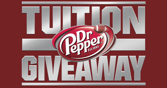 Dr Pepper Tuition Giveaway 2017