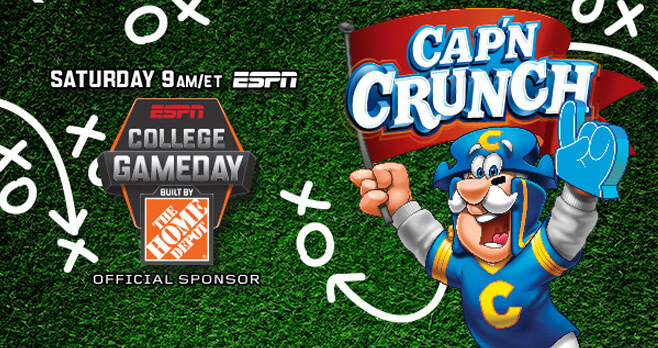 Gameday With Cap'n Crunch Sweepstakes