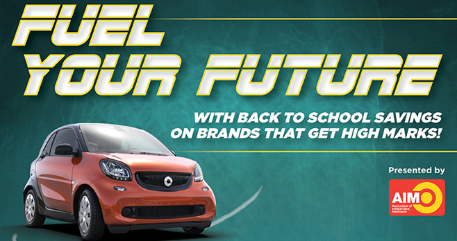 AIM Fuel Your Future Sweepstakes