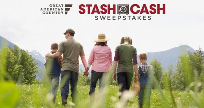 gactv sweepstakes great american country 25k stash of cash sweepstakes 863