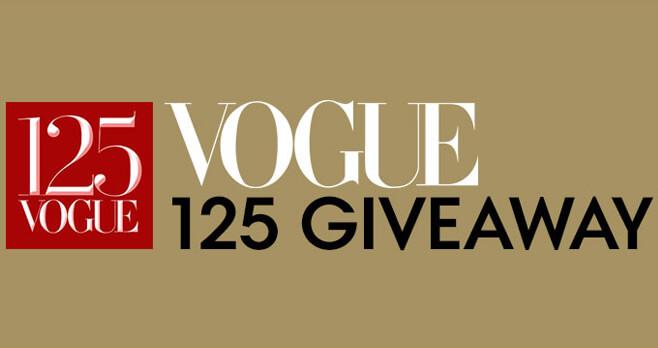 Vogue 125 Giveaway