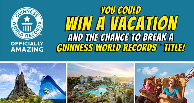 GWR Dream Vacation Sweepstakes
