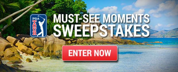 PGA TOUR Must See Moments Sweepstakes 2017