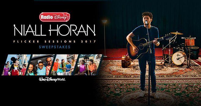 Radio Disney Niall Horan Flicker Sessions Tour Sweepstakes