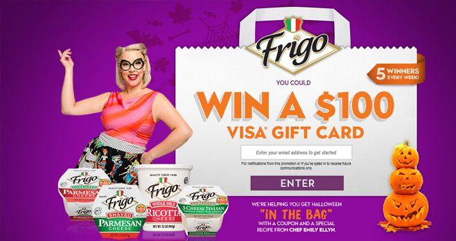 Frigo Cheese In The Bag Sweepstakes 2017
