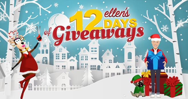 Ellen's 12 Days Of Giveaways 2017