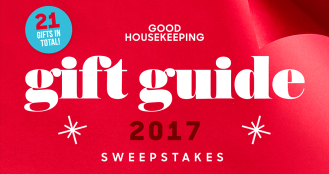 Good Housekeeping Gift Guide 2017 Sweepstakes