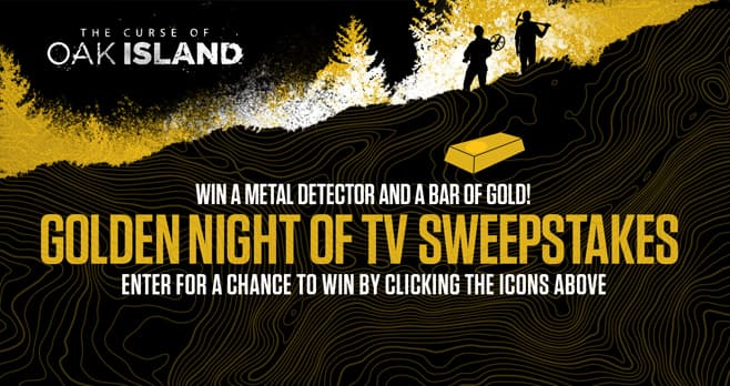trip to oak island sweepstakes history channel the curse of oak island sweepstakes 3346