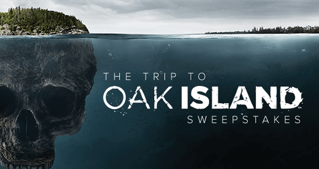 trip to oak island sweepstakes history channel oak island contest enter for your chance 6629