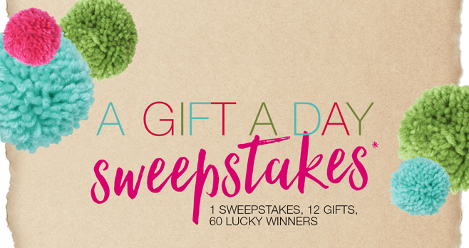 Maurices A Gift A Day Sweepstakes 2017
