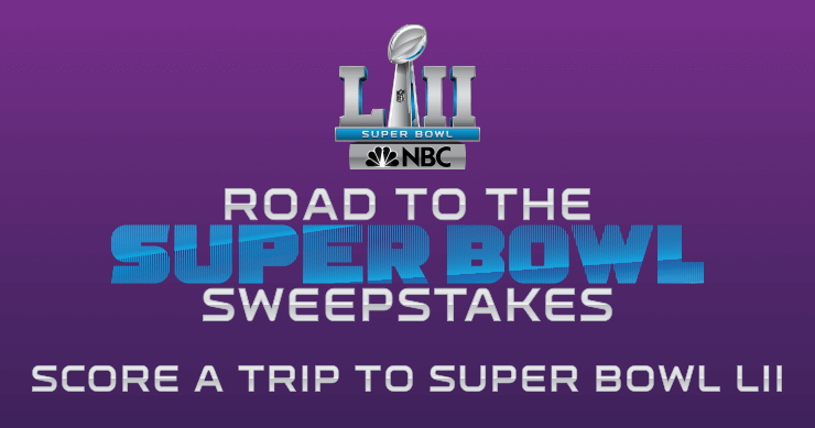 NBC Road To The Super Bowl Sweepstakes