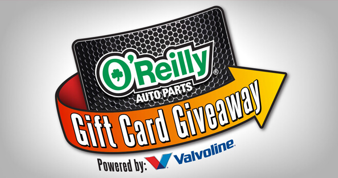 O'Reilly Auto Parts Gift Card Giveaway 2018 (OReillySweeps.com)