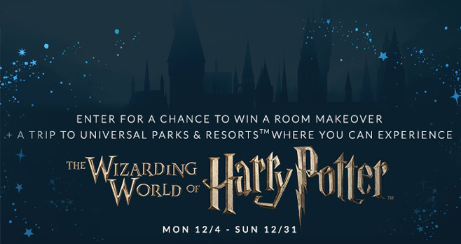 PBteen Ultimate Harry Potter Giveaway