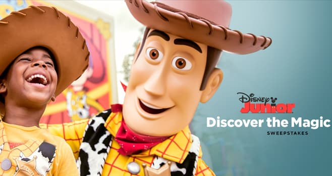 Disney Discover The Magic Sweepstakes