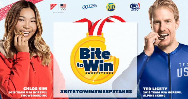 Nabisco Bite To Win Sweepstakes 2018 (BiteToWinSweepstakes.com)