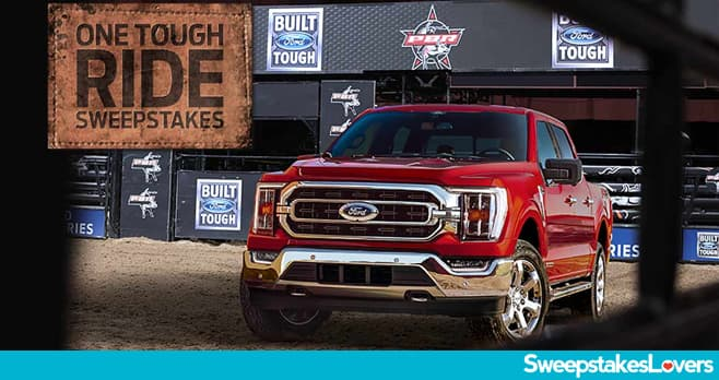 PBR.com Ford Sweeptakes 2021