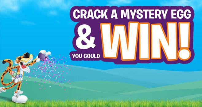 CHEETOS Mystery Egg Challenge 2018 (CheetosEaster.com)