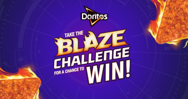 Doritos Blaze Challenge 2018 (DoritosBlaze.com)